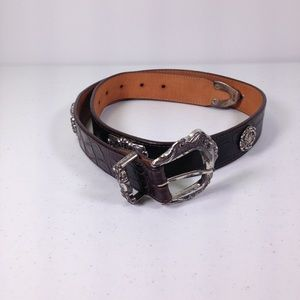 Brighton Leather Belt Size Medium